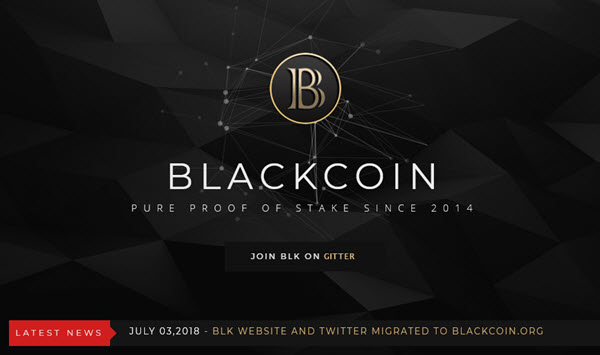 криптовалюта BlackCoin