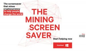 Mining Screensaver